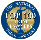 Fred Rispoli top 100 trial lawyers award